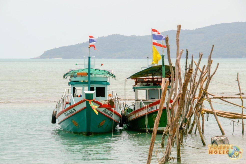 Bateau typique thaïlandais à Koh Samui