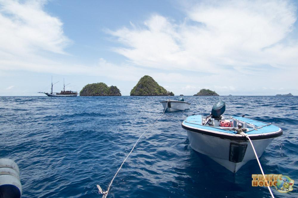 Annexes de plongée du MV Ambai