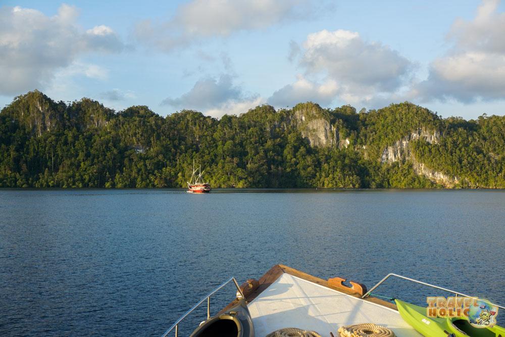 Bateaux de plongée à Raja-Ampat