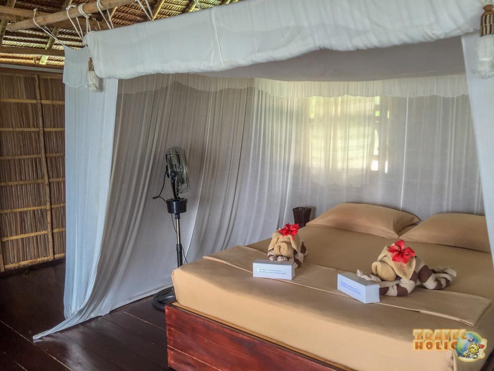 Papua Paradise, chambre