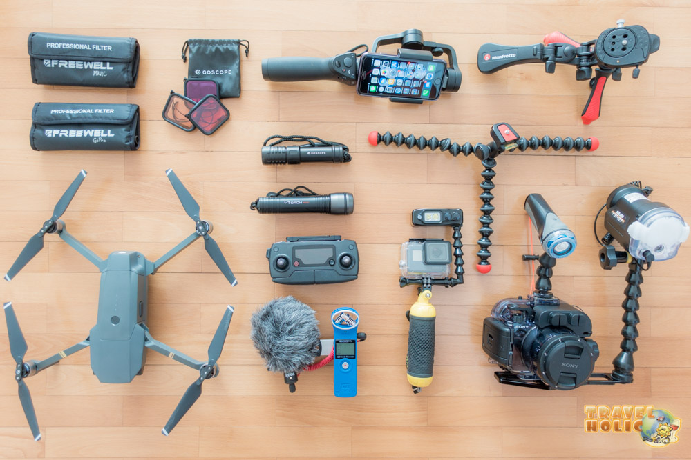 Equipement photo et vidéo