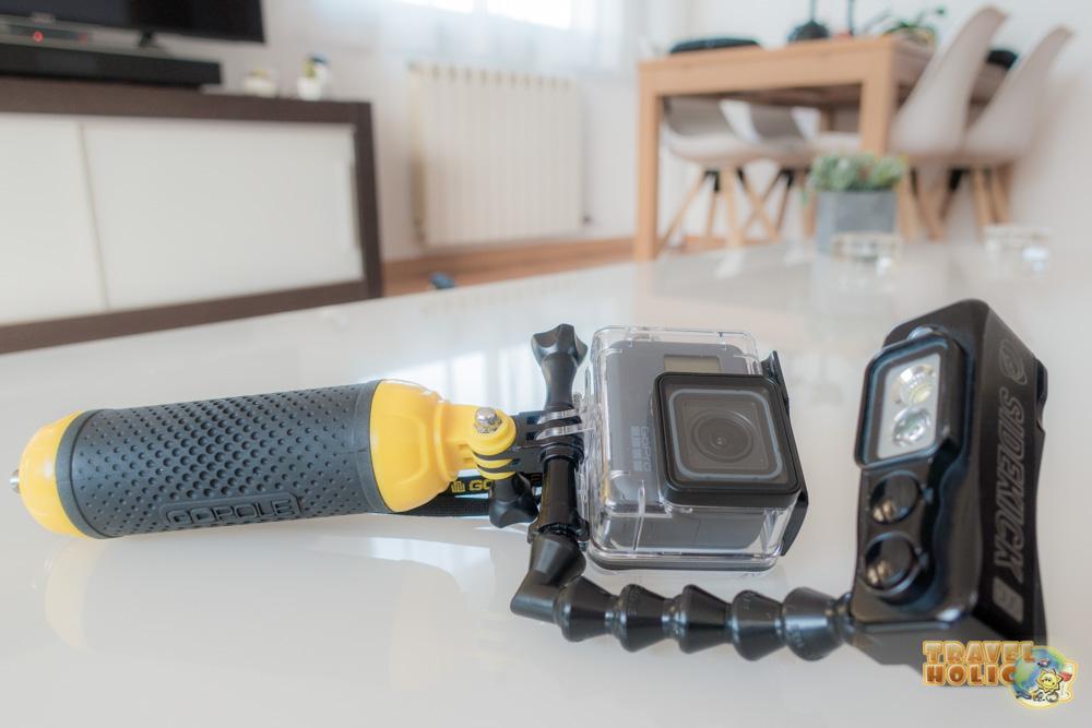 équipement photo et vidéo GoPole GoPro 5 Sidekick Duo