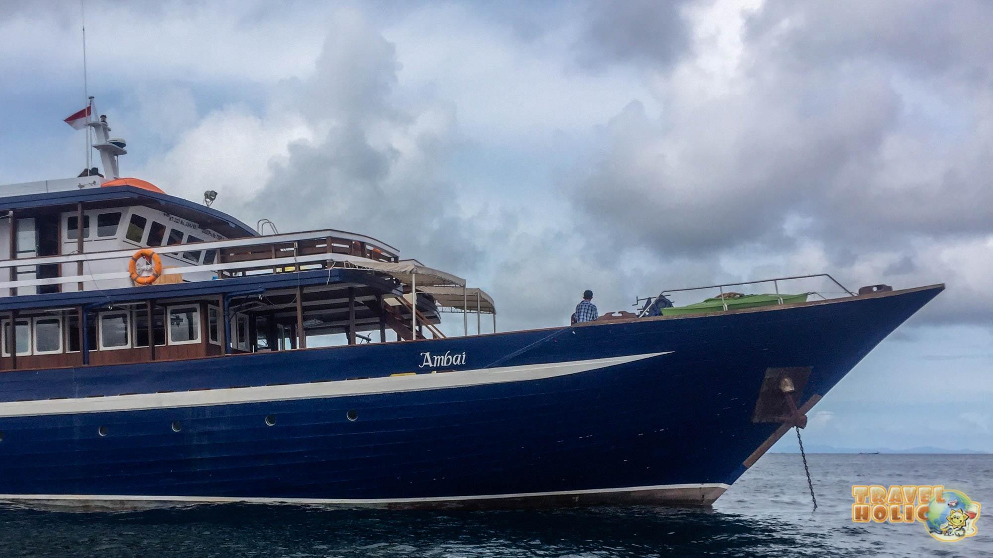 MV Ambai, bateau de croisière à Raja Ampat
